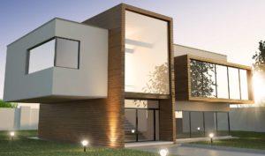 Casa de diseño moderno